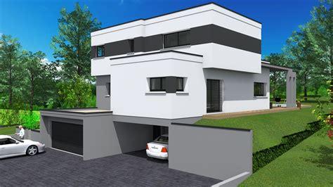 cabinet de maitrise d oeuvre c 178 projet de maison en toit plat sur les hauteurs de thann 68