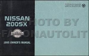 1995 Nissan Sentra  200sx Repair Shop Manual Original
