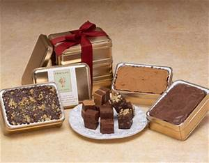 Chocolate Fudge Gift Basket Gourmet Chocolate Fudge