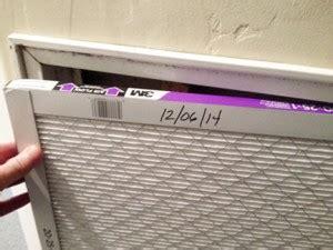 replace  heat pump filter