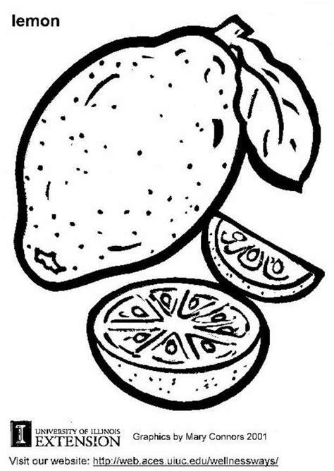 Citroen Fruit Kleurplaat by Kleurplaat Citroen Afb 5814