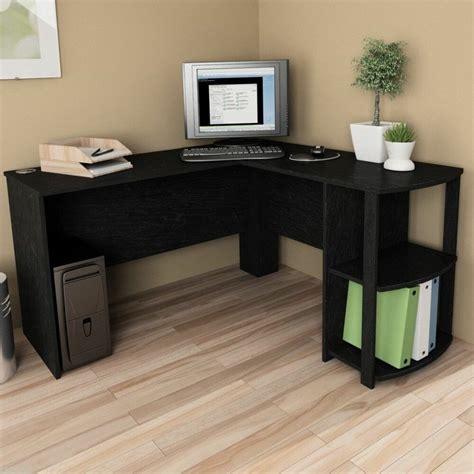 shaped corner desk computer workstation home office