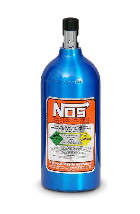NOS 14720NOS 2.5 lb Electric Blue Nitrous Bottle