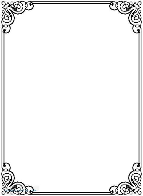Free Frames Herunterladens Für Word Documents Elinemdea