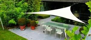 Toile Tendue Jardin : d co jardin la toile tendue ~ Melissatoandfro.com Idées de Décoration