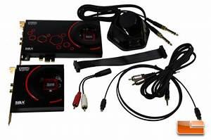 Creative Sound Blaster Zxr Sound Card Review