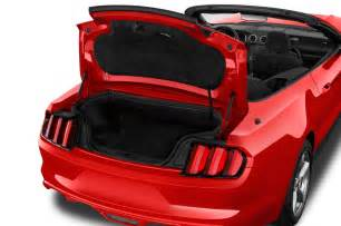 2017 Ford Mustang Convertible Trunk