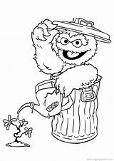 Coloring Sesame Street Pages Count Popular sketch template