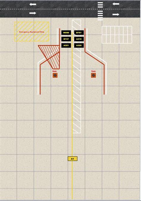 custom designed airport parking foils page
