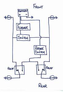 Alternating Flasher Wiring Diagram