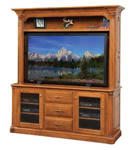 tv hutch flat panel tv cabinet jefferson 654 clear creek amish furniture waynesville ohio between