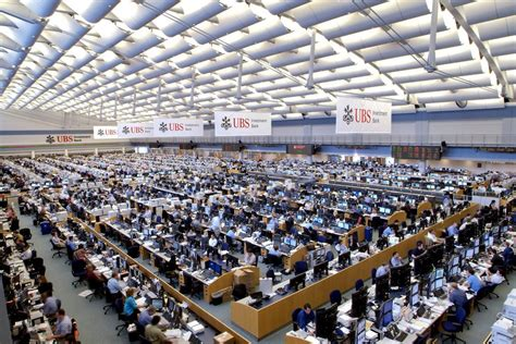 ubs trading floor new york ubs may move back to manhattan from stamford the new