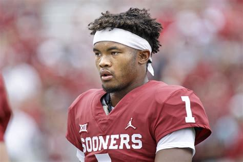 oklahoma football kyler murray  work