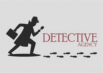 Detective Silhouette Agency Clip Silueta Clipart Private