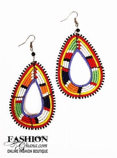 Earrings Kenyan Beaded Kenya Jewellery African Africa