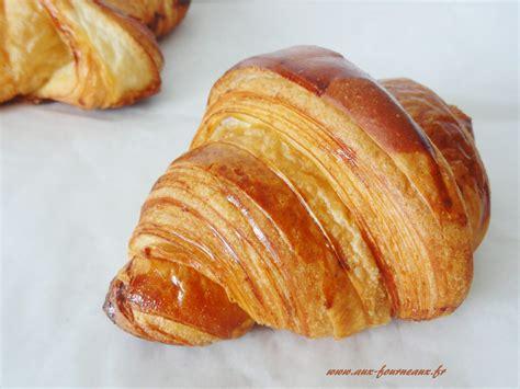 recette pate a croissant recette du croissant au beurre aux fourneaux