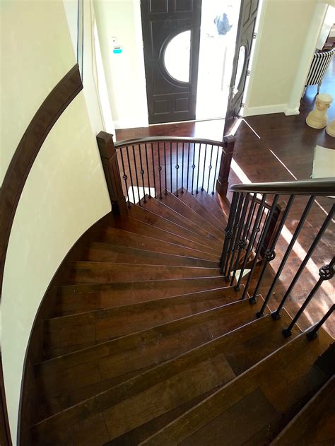 curved stair carpet laminate vinyl planks tile