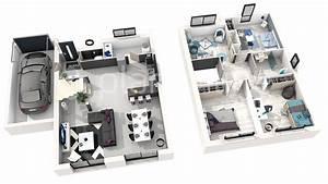 plan 3d maison gratuit et amnagement les meilleurs With faire plan maison 3d 8 maison architecte top maison