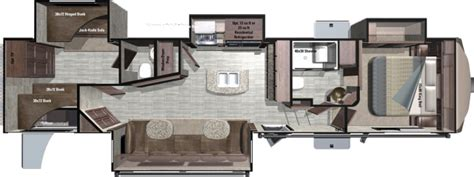 open range rv floor plans 2017 2018 open range roamer 374bhs bunkhouse 5th wheel with