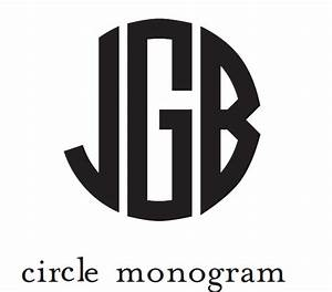 circle monogram related keywords circle monogram long With circle monogram