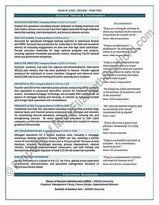 Executive Resume Samples 2015 Executive Resume Sample Chief Operating Officer