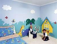 interesting kidsroom wall mural Wall Art And Decor For Kids / design bookmark #2939