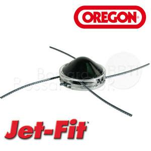fadenkopf motorsense universal oregon jet fit aluminium 4 fadenkopf motorsense trimmer jetfit m 228 hkopf universal ebay