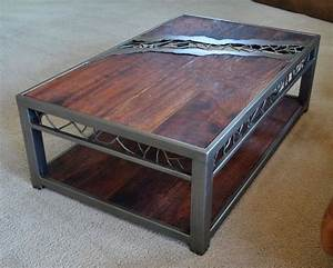 rustic wood and metal coffee table nice on round coffee With nice wooden coffee tables