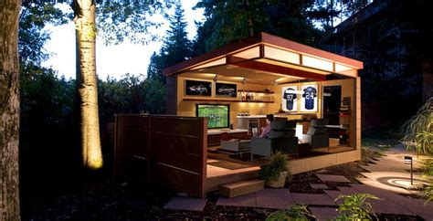 outdoor man cave shed brilliant ideas  man cave shed garden design bar ideas