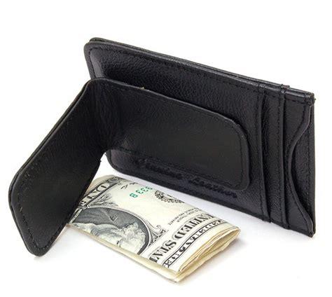 Front pocket wallet money clip for your requirement. Mens Leather Money Clip Slim Front Pocket Wallet Magnetic ID Credit Card Holder | eBay