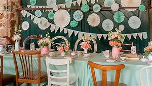 Decoration Table Mariage Pas Cher : decoration anniversaire vintage pas cher ~ Teatrodelosmanantiales.com Idées de Décoration
