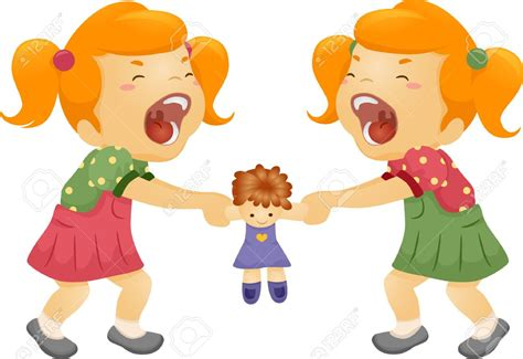 Fight Clipart Sibling Rivalry
