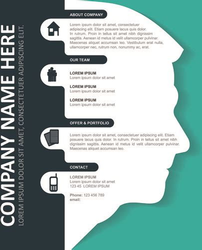 letterhead template coreldraw business  vector