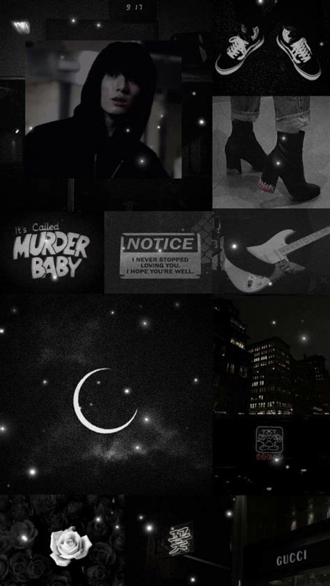 Aesthetic Jungkook Wallpaper Iphone by Jungkook Black Aesthetic Wallpaper Credits To