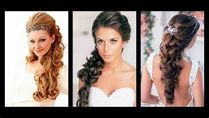 Frizure za vjenčanje duga kosa - YouTube