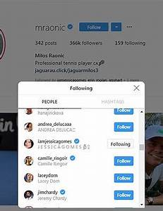 Canadian tennis star Milos Raonic's new model girlfriend ...