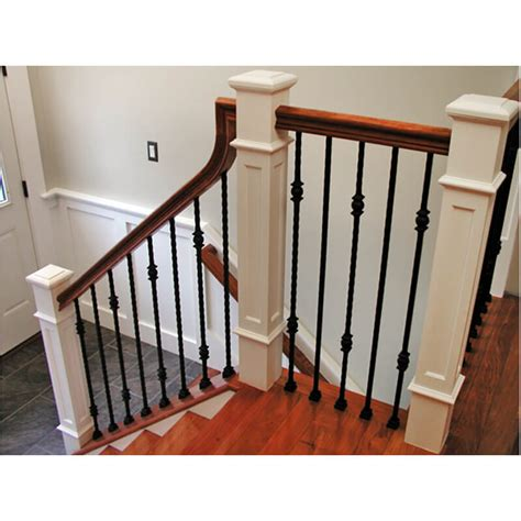 iron banisters single iron baluster stair parts