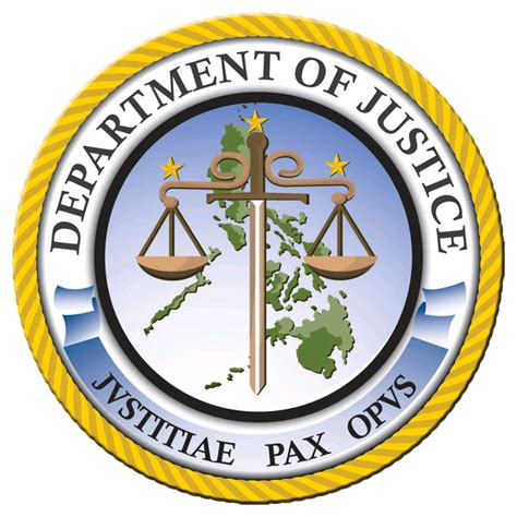 cabinet agencies of the philippines department of justice philippines