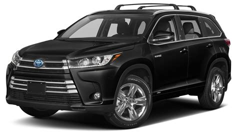 Toyota Suv Hybrid by 2017 Toyota Highlander Hybrid For Sale 132 Used Cars From