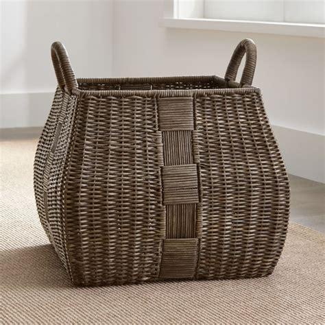 auburn square basket crate  barrel