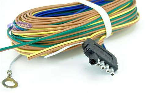 Trailer Light Wiring Harness Flat Wire