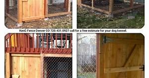 dog kennel under deck by keng fence denver co call 720431 With under deck dog kennel