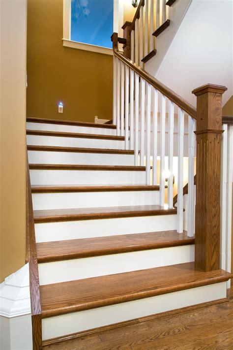distinctive interiors custom matched oak stair materials