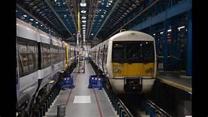 Inside Slade Green Railway Depot