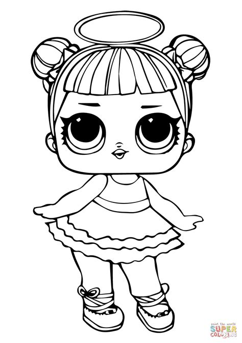 lol doll sugar coloring page  printable coloring pages