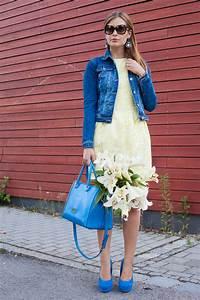 Kleid Mit Jeansjacke : 25 kleidungsst cke 50 looks outfit 28 coast kleid warehouse jeansjacke josie loves ~ Frokenaadalensverden.com Haus und Dekorationen