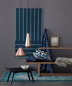 Graue Farbe Wand : kupfer frischt anthrazitfarbene wand auf bild 11 sch ner wohnen ~ Sanjose-hotels-ca.com Haus und Dekorationen