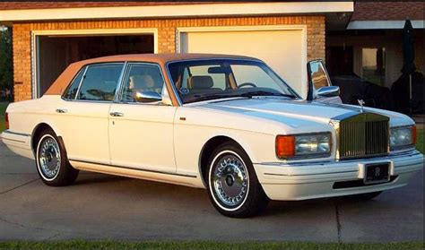 rolls royce roof 1997 rolls royce silver spur with factory vinyl roof