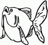 Goldfish Coloring Pages Printable Bestcoloringpagesforkids Fish Print Getcoloringpages Cartoon sketch template