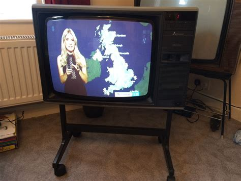 Mitsubishi Television by Vintage Tv Set Mitsubishi Photo Tv In 70s 80s Vintage